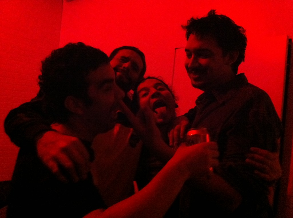 """De Fiesta"" after the show in Williamsburg, Brooklyn."